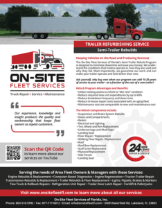 Semi-Trailer Refurb by On-Site Fleet Services of Florida